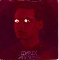 Gary Numan - Complex sleeve