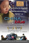 China Blue poster