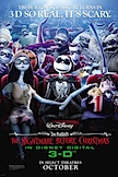 The Nightmare Before Christmas 3D poster