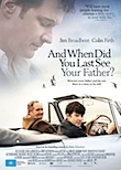 And When Did You Last See Your Father? poster