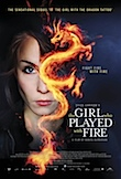 The Girl Who Played with Fire poster