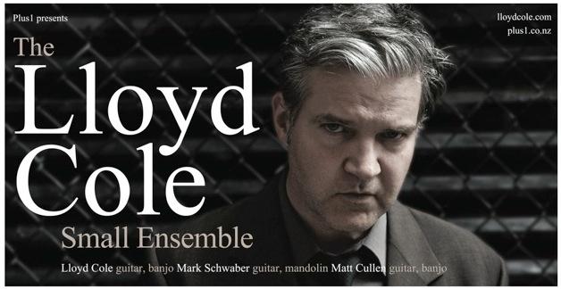 Lloyd Cole tour poster