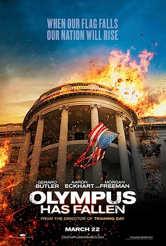 Review: Olympus Has Fallen, Evil Dead and Escape from Planet Earth