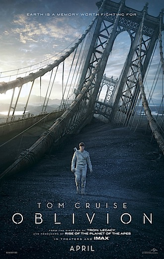 Review: Oblivion, Warm Bodies, Barbara, Performance, You Will Meet a Tall Dark Stranger and The Croods