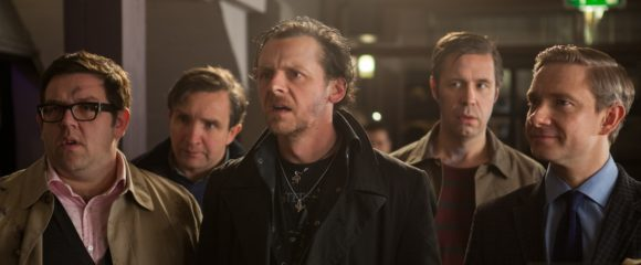 Nick Frost, Eddie Marsan, Simon Pegg, Paddie Considine and Martn Freeman in The world's End