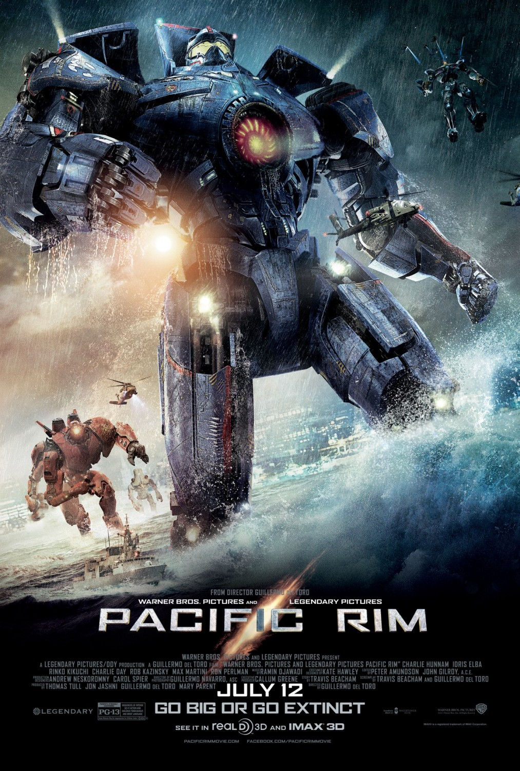New at the Movies: The World's End, Pacific Rim, The Look ... Pacific Rim 2013