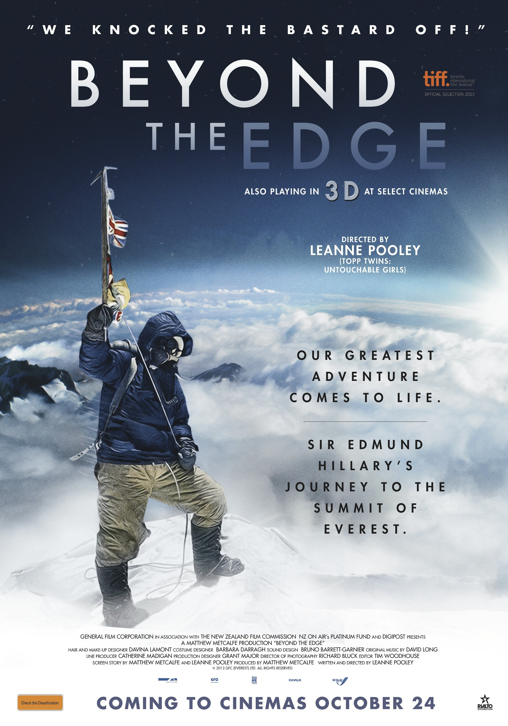 Review: Beyond the Edge, Thor- The Dark World, Inch'Allah