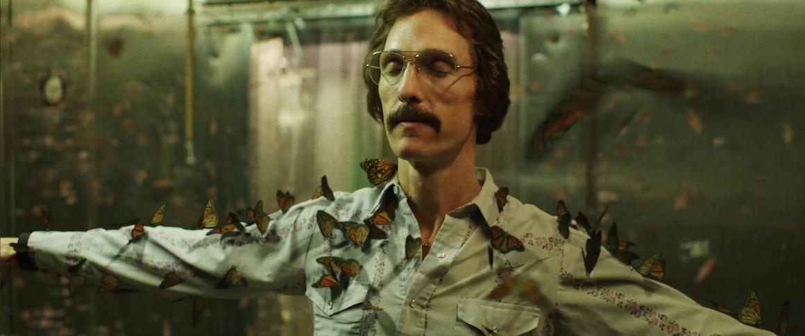Matthew McConaughey as Ron Woodroof in Dallas Buyers Club (2013)