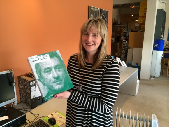 Robert De Niro book winner Rebecca McMillan with her prize!