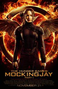 Hunger Games Mockingjay pt 1 poster